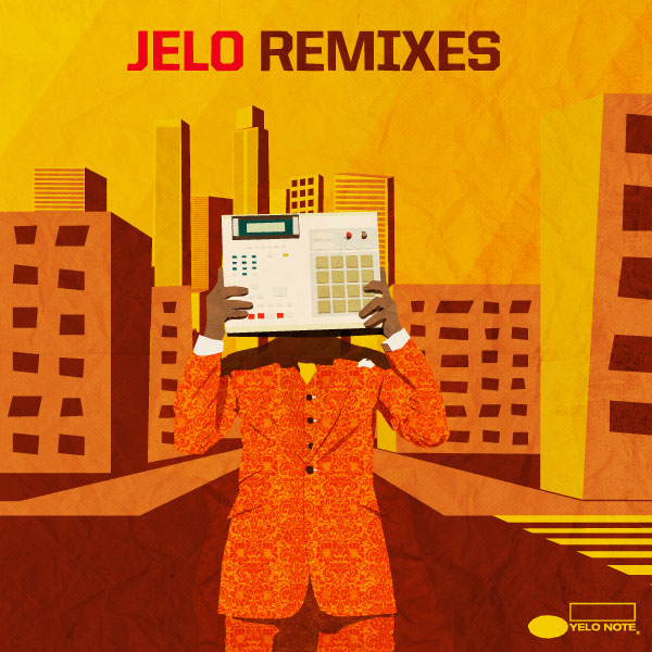 Jelo Remixes -kansi